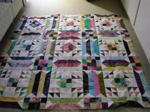 Patchwork drømmen 45 - se mere patchwork på HANNES blog