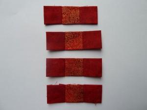 13. del af det gratis patchwork møster fra HANNES Patchwork Jule DHD 2011