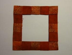 16. del af HANNES patchwork Jule DHD 2011 - igen et gratis patchwork mønster