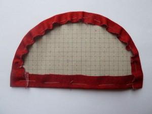 17.-del af HANNES Patchwork Jule DHD 2011 - ri patchwork stoffet rundt om papskabeloner