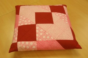 Anettes pude - HANNES Patchwork Sommer DHU