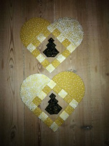 Annes udgave af HANNES patchwork jule DHD