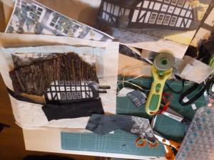 Bettina Andersen patchwork kursus 8 - Byens huse - hos HANNES patchwork