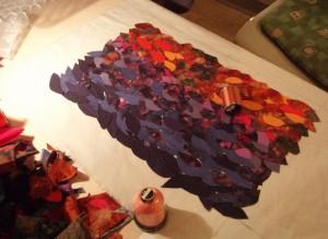 Bettina Andersens kursus hos HANNES patchwork