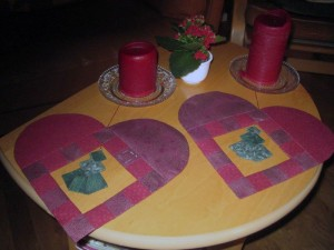 Birgits udgave af Hannes patchwork jule DHD 2011