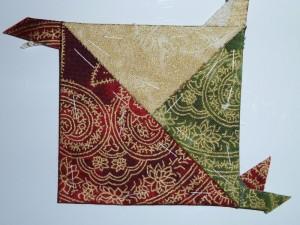 HANNES julepatchwork DHD 2.del - et gratis patchworkmønster på HANNES blog