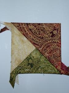 HANNES julepatchwork DHD 5.del - et gratis patchworkmønster på HANNES blog