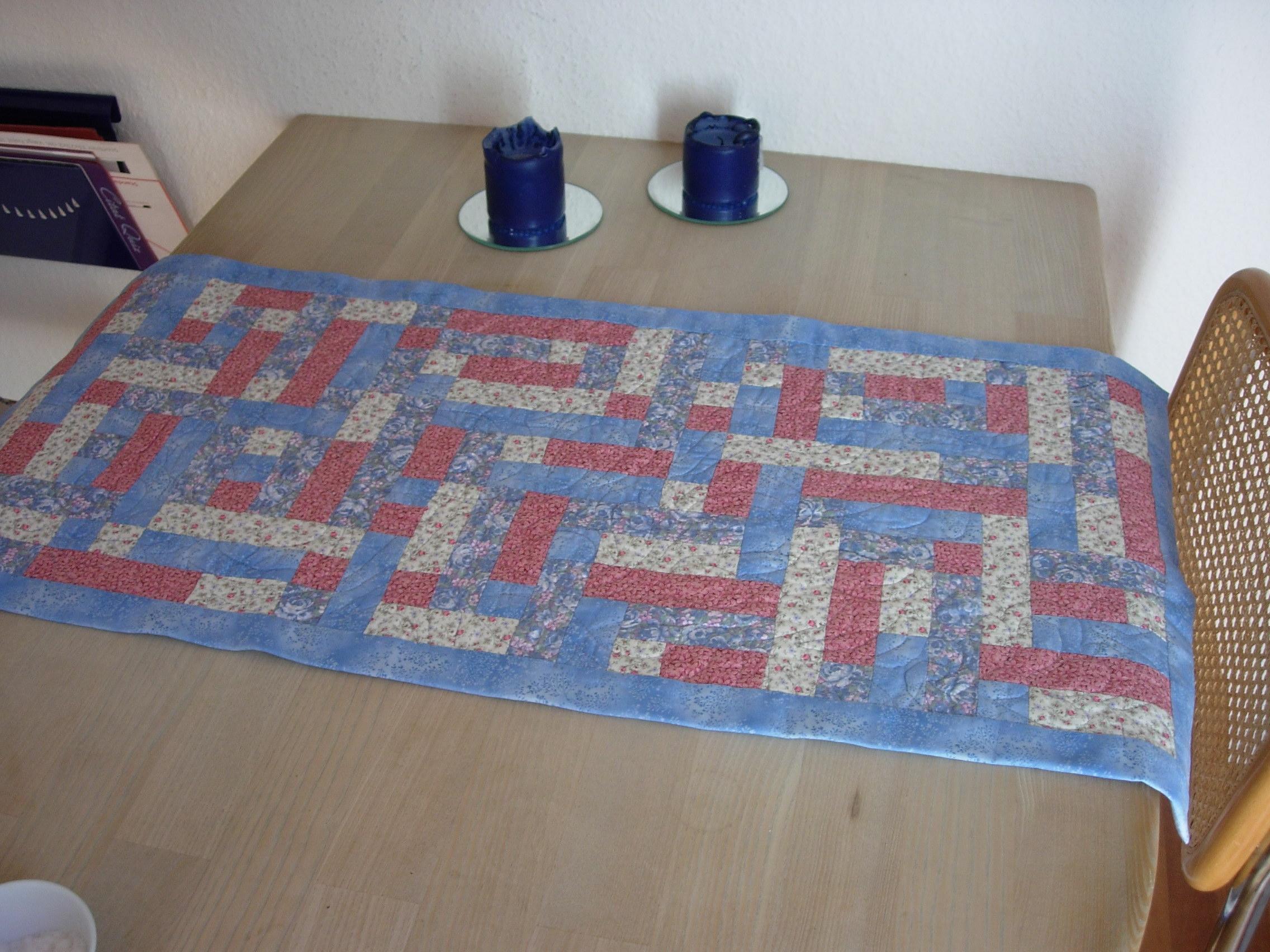 Judys udgave af HANNES patchwork sommer DHU -det gratis patchwork mønster