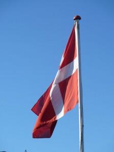 Flag på HANNES blog da den har 3. års fødselsdag