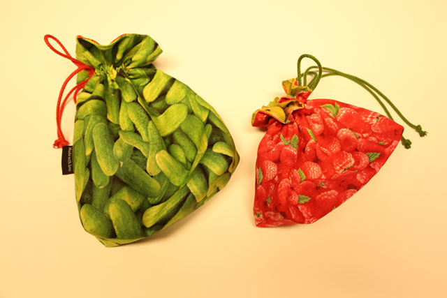 Frugtpose-grøntsagspose