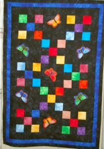 Patchwork drømmen 50 - se mere patchwork på HANNES blog