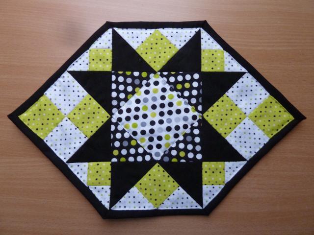 Giveaway - dækkeserviet fra Pedari patchwork