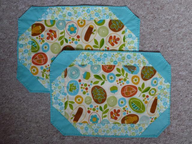 Giveaway dækkeservietter fra HANNES patchwork