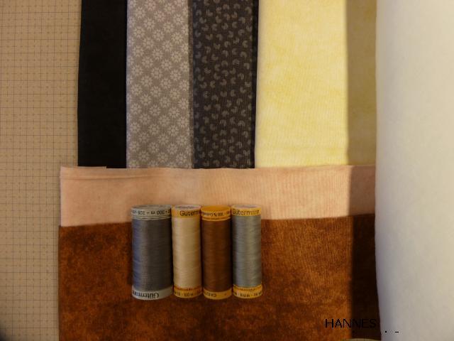 grå udgave af HANNES patchwork DHU sykit