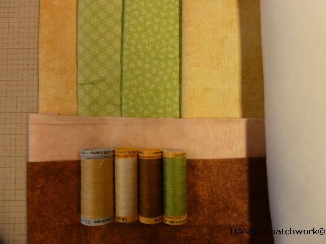 grøn udgave af HANNES patchwork DHU sykit