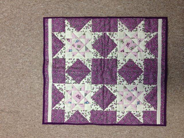 Grethes udgave af HANNES patchwork sommer DHU