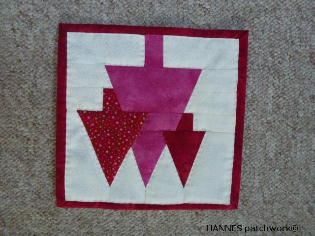 HANNES patchwork DHA 3 del.færdig