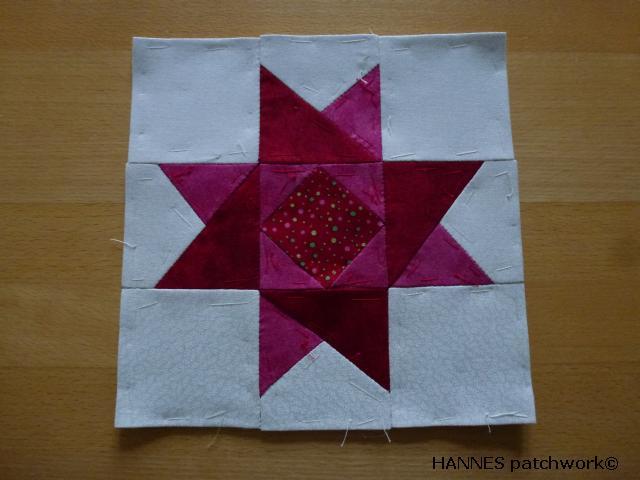 HANNES patchwork Jule DHA Blok 1-stof