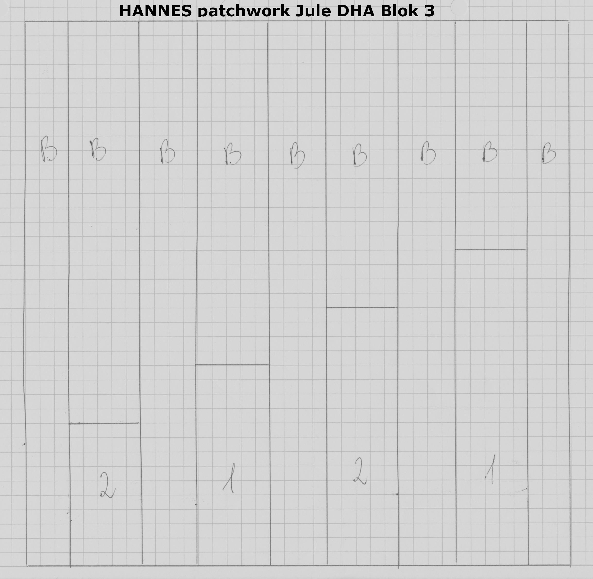 HANNES patchwork Jule DHA Blok 3