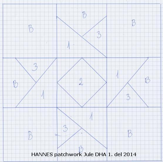 HANNES patchwork jule DHA 1. del 2014.