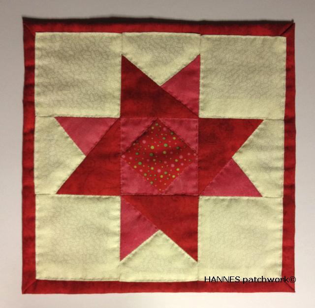HANNES patchwork jule DHA- 1. del færdig
