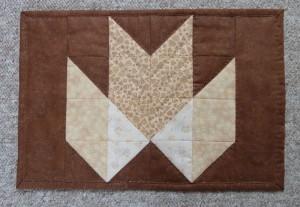 HANNES patchwork sommer DHU - dækkeserviet med quiltning på den anden måde