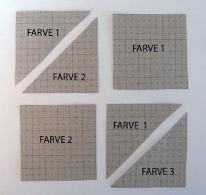 HANNES patchwork sommer DHU 3.del med papskabeloner