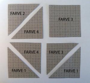 HANNES patchwork Sommer DHU-4uge et gratis patchwork mønster