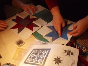 Inger-Helene kursus hos HANNES patchwork