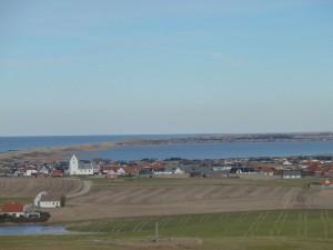 HANNES fridag uden patchwork - ved Bovbjerg fyr -udsigten
