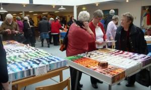 HANNES patchwork var i Æblehaven i Faxe - mange dejlige kunder