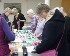 HANNES patchwork var i Æblehaven i Faxe - mange dejlige kunder kikker