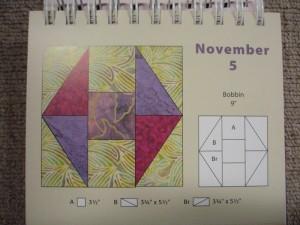 HANNES patchwork kalender