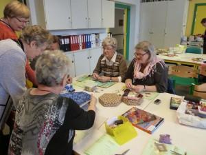 HANNES patchwork underviser i applikeret muffins i Silkeborg - der snakkes