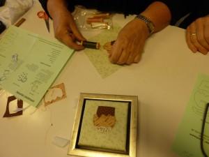 HANNES patchwork underviser i applikeret muffins i Silkeborg - farver