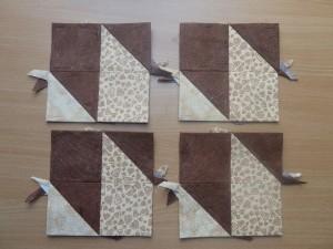 HANNES patchwork Sommer DHU-1uge - med patchwork stof