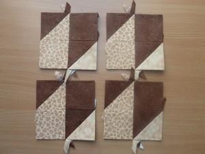 HANNES patchwork sommer DHU 3.del med patchwork stof