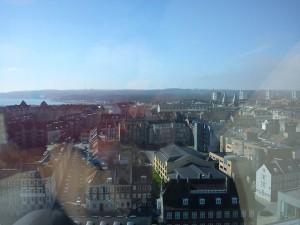 Hannes har oplevet en super flot udsigt over Århus