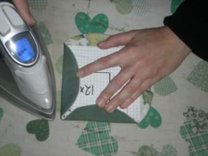 Japansk foldeteknik på symaskine fra HANNES patchwork