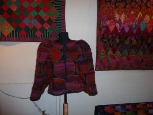Kaffe Fassett udstilling i Silkeborg- strik- se mere på HANNES patchwork blog