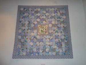 Kaffe Fassett udstilling i Silkeborg- patchwork- se mere på HANNES patchwork blog