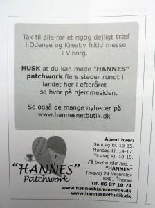 Kludemagasinet nr 3 - HANNES patchwork