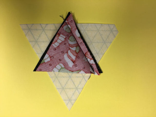 Nemme trekanter på rastequick