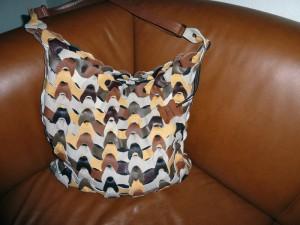 Lisbeths flotte hjemmelavet taske