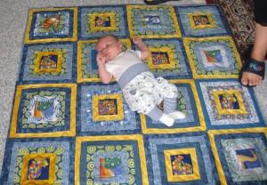 Patchwork drømmen 56 - se mere patchwork på HANNES blog