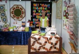 HANNES patchwork til Patchworktræf i Roskile 2012 - Hanne Bech