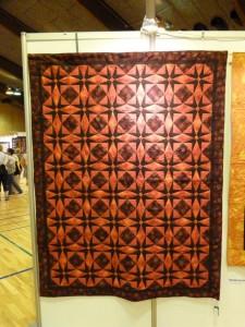 Patchworktræf i Roskile 2012  - patchworktæppe