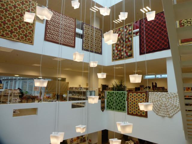 Pedari patchwork udstilling