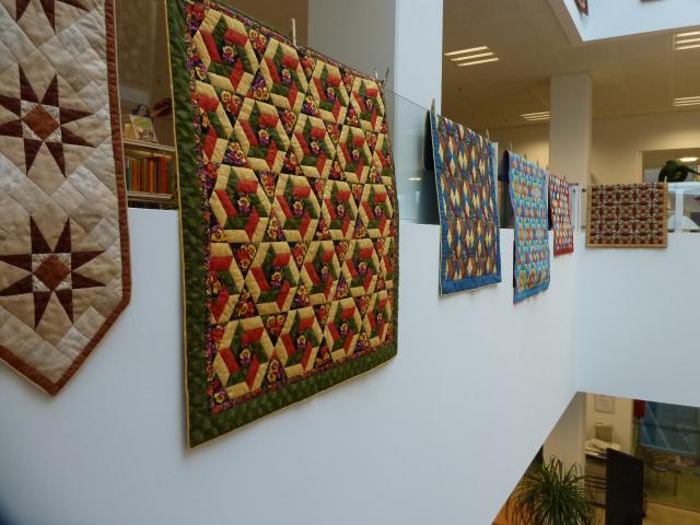 Pedari patchwork udstilling4