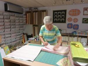QUIP-forberedelser hos HANNES Patchwork - min mor